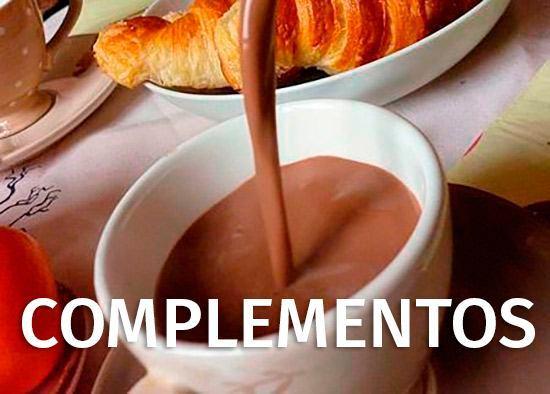 Nuestros complementos - Cafés Ganada